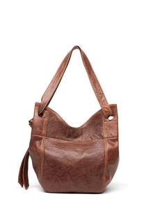 Image of LARGE LEATHER TOTE
