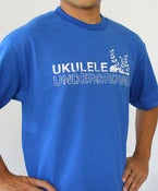 Image of  Ukulele Underground Logo T-Shirt