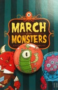 "Image of March of the Monsters Single 1"" Button"