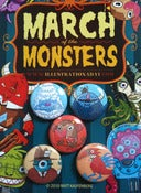 "Image of March of the Monsters 5-Pack 1"" Buttons"
