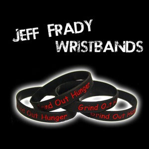 Image of Special Edition - Jeff Frady Wristbands