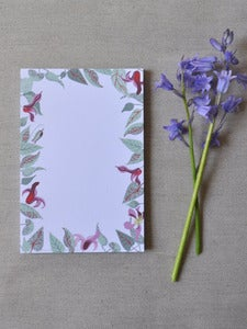 Image of Clematis Notepad