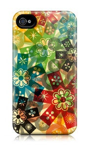 Image of flower power iphone 4/4S case