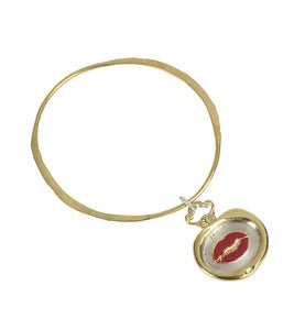 Image of Wax Seal Lips Bangle