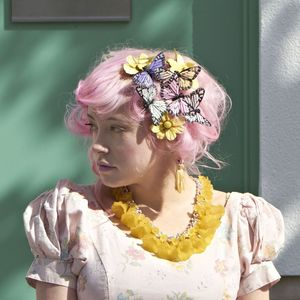 Image of Sunbeam Floral Statement Necklace