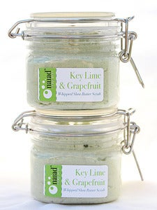 Image of Key Lime & Grapefruit Whipped Shea Butter Scrub