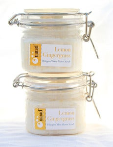 Image of Lemon Gingergrass Whipped Shea Butter Scrub