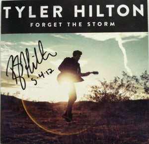 "Image of Signed ""Forget the Storm"" Cd + Shirt Bundle"