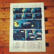 Image of Luke Leighfield | European Tour 2012 Screen Print