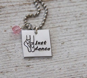 Image of Just Dance necklace