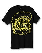 Image of Street Carnage x Saved Tattoo (Black w/ Yellow Print)