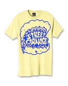 Image of Street Carnage x Saved Tattoo (Yellow w/ Blue Print)