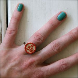 Image of Vintage Bingo! Ring