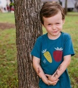 Image of Kids Organic Veggie Tee:  galaxy