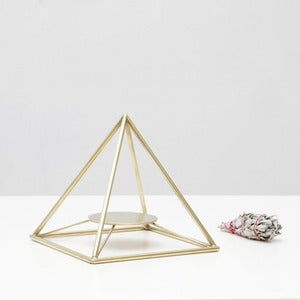 Image of Sage Pyramid / Brass