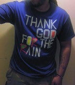 "Image of ""thank God for the rain"" tee"