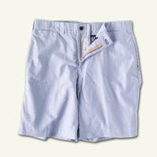 Image of Sunday Shorts -   SKYE Blue Oxford
