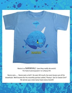 Image of NARZO TODDLER TEE