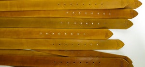 Image of Ochre Leather Belt