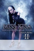 "Image of Miss Kisa - ""Uncontrollable"" Tour Poster"