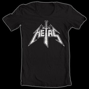 Image of Metal The Brand Logo T-Shirt