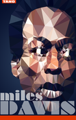 Image of Tribute Miles Davis Poster - Master of Cool
