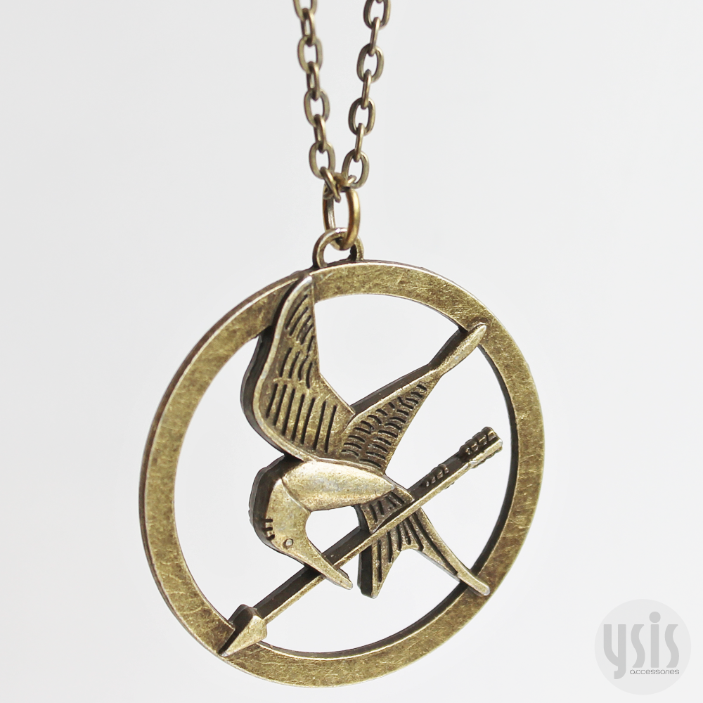 ysis accessories the hunger mockingjay necklace