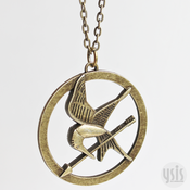 Image of The Hunger Games Mockingjay Necklace