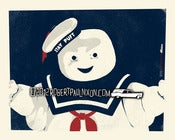 Image of Homage Print: The Stay Puft Marchmallow Man