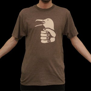 Image of The Predatory Bird-in-Hand Tee