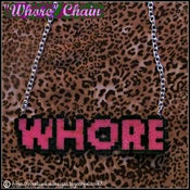 Image of &quot;Whore&quot; Chain