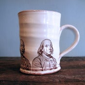 Image of Benjamin Franklin Mug by Justin Rothshank