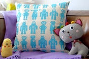 Image of robots pillow