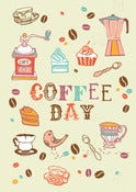 Image of Coffee Day Print - Available in 2 sizes