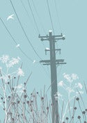 Image of Telegraph Pole Print