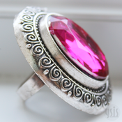 Image of Large Jewelled Ring