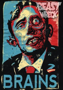 Image of ZOMBAMA'S REVENGE Men's Plastisol shirt