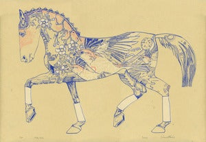 Image of Pyrois - Solar Steed Screen Print