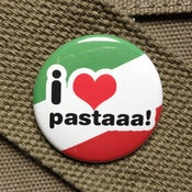 Image of Hetalia I heart pasta button