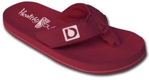 Image of Diabetes Awareness Flip Flop ( Purple )