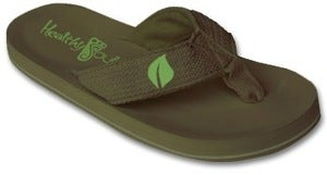 Image of The Plant, Int'l Awareness Flip Flop ( Green )