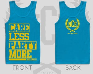Image of Care Less Party More Tank