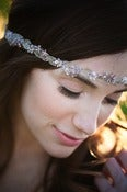Image of The Beaded Lilac and Champagne Band