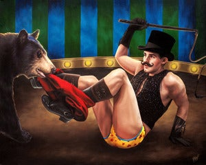 Image of The Bear Tamer | prints