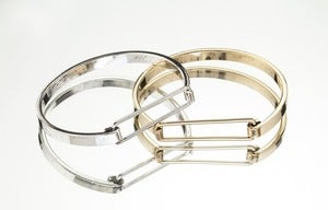 Image of OPEN FACED BRACELET SET