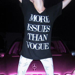 Image of MORE ISSUES THAN VOGUE