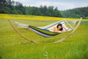 Image of AMAZONAS Starset kolibri - Weatherproof hammock and wooden stand set