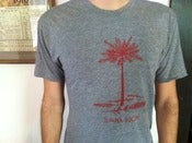 Image of Dana Buoy Shirt (grey w/ red ink)