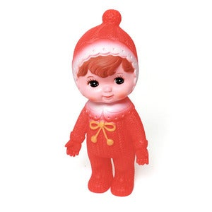 Image of ORANGE WOODLAND DOLL