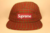 Image of Supreme Panel red/green hat